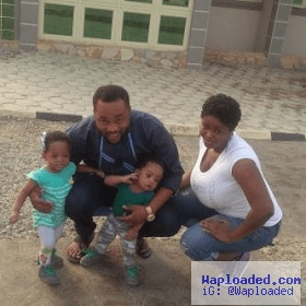 Yoruba actor Damola Olatunje celebrates twins